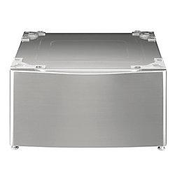 Piedestral de 13,6 po pour laveuse ou secheuse, graphite - WDP4V