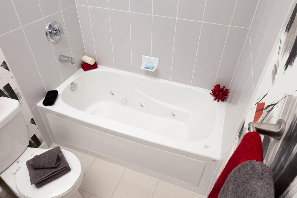 Sydney 5 Feet Acrylic Drop-in Non Whirlpool Bathtub