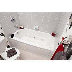 Mirolin Sydney 5 Feet Acrylic Drop-in Whirlpool Bathtub