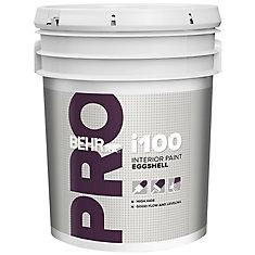 BEHR PRO i100 Series, Interior Paint Eggshell - White Base, 18.96 L