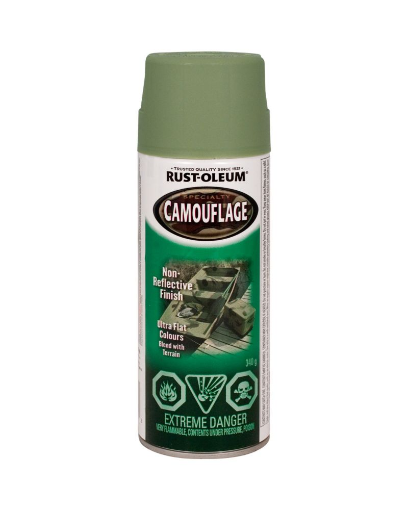 Specialty Camouflage Army Green 340G