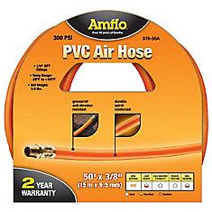 PVC Air Hose - 3/8 Inch x 50 Feet