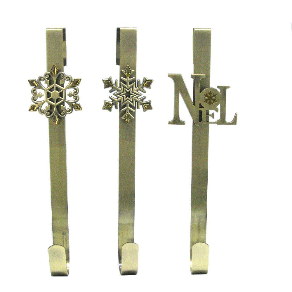 Gold Wreath Hanger - 14.5 Inch