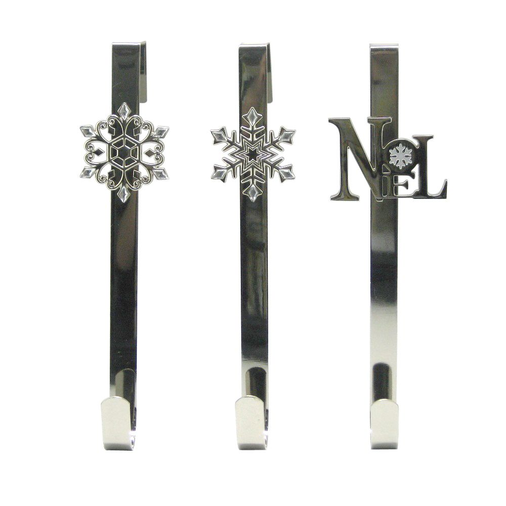 Silver Wreath Hanger - 14.5 Inches