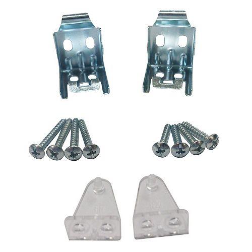 Home Decorators Collection Supports de montage/de retenue pour stores assombrissants et en aluminium de 2,54 cm (1 po)