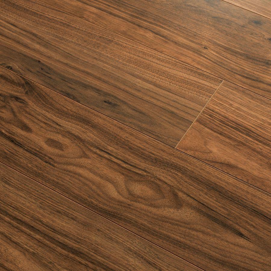 New Frontiers Morris Walnut Dark Roast Laminate Flooring