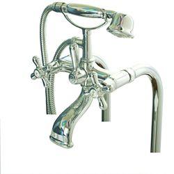 MAAX Ensemble d'accessoires de bain sur pattes chrome