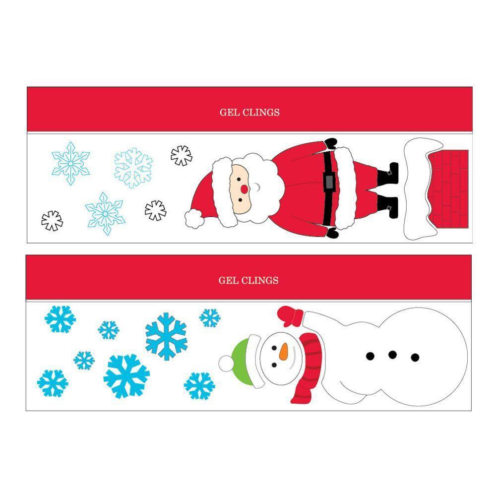 Appliqués de Noël en gel, 20pox7po