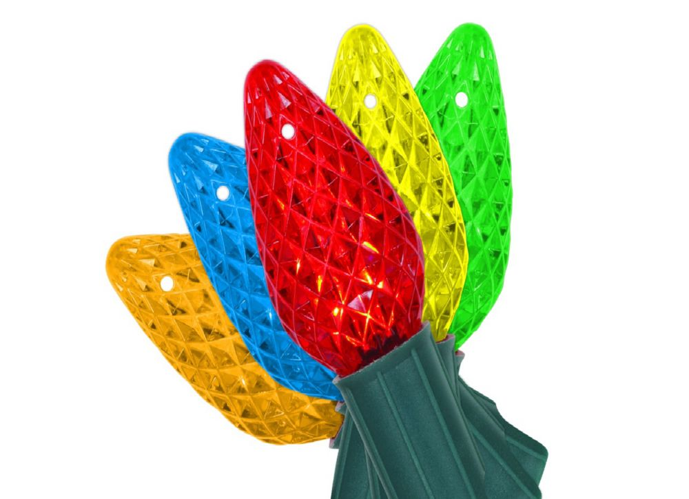 Home Accents Holiday 50 LED C9 Lights Multi-Colour | The Home Depot Canada