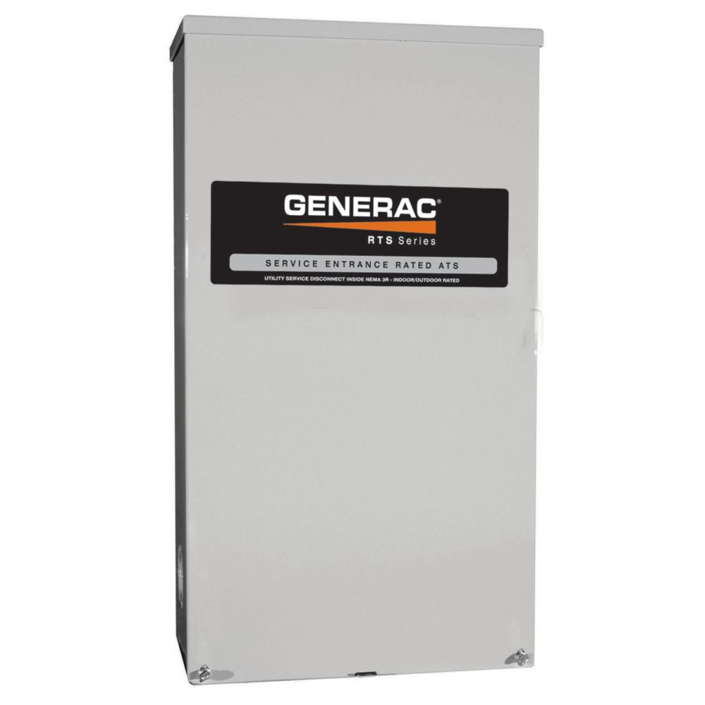 CSA Approved Service Rated 200 Amp Automatic Transfer Switch 120/240V Nema 3R
