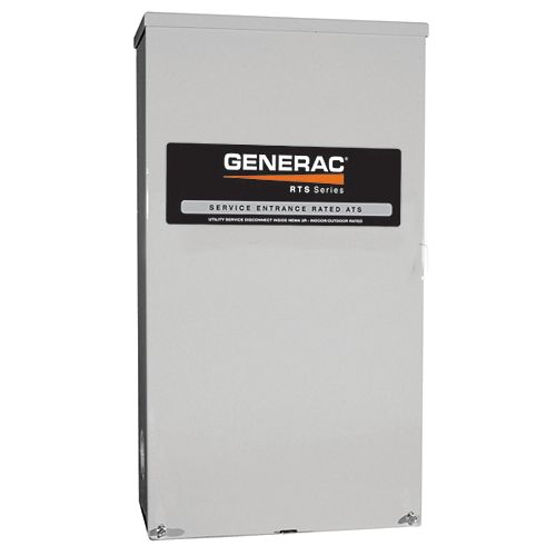 Generac CSA Approved Service Rated 100 Amp Automatic Transfer Switch 120/240V Nema 3R