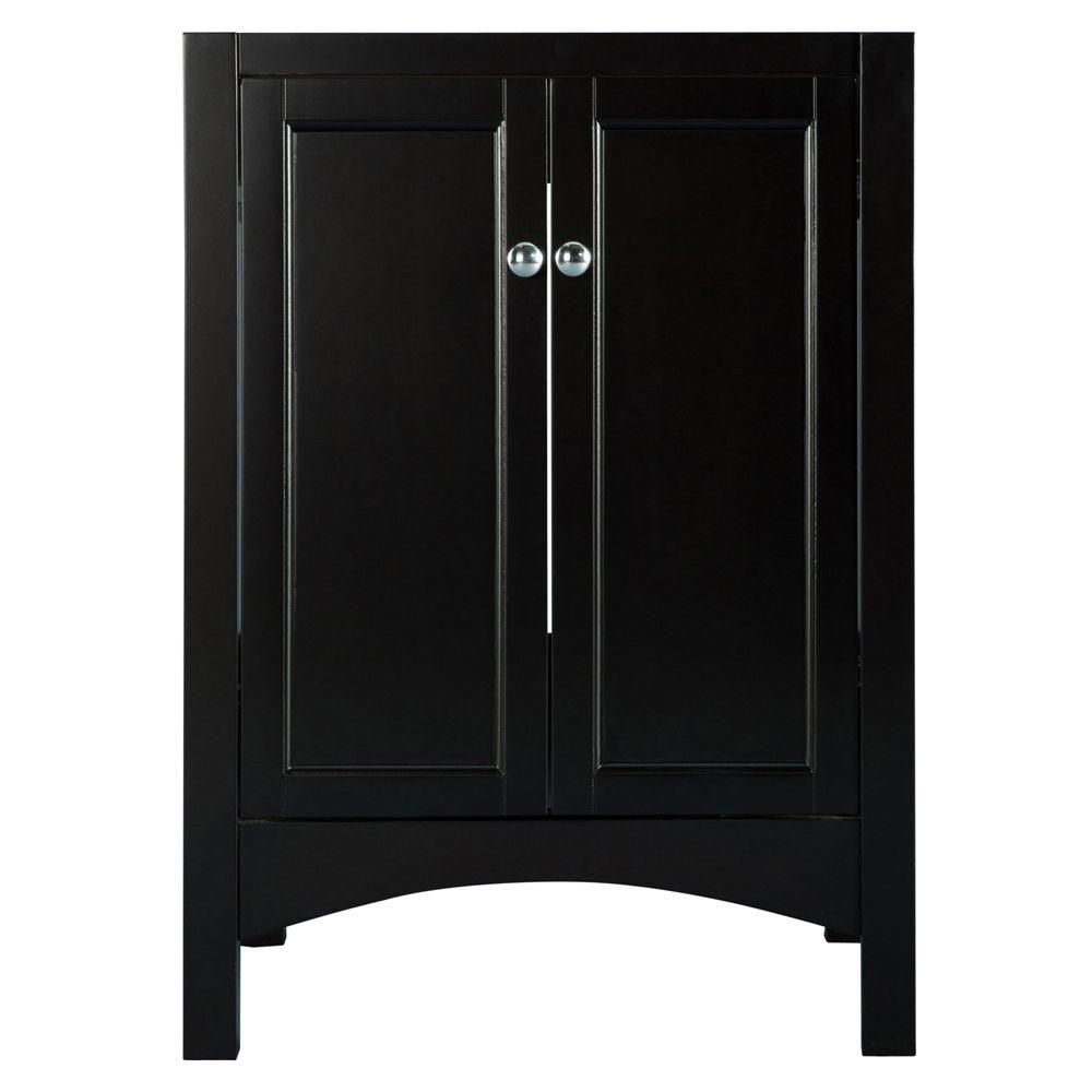 Haven 24-Inch  Vanity Cabinet in Espresso