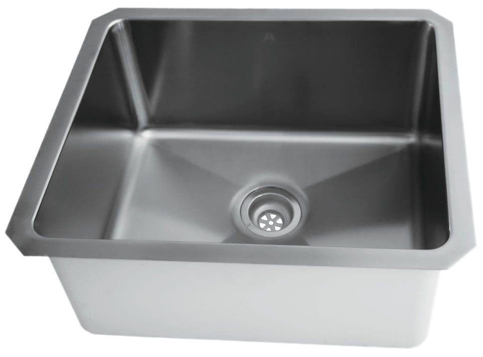 Stainless Steel Undermount Kitchen Sink With Small Radius Corners