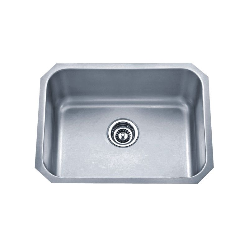 ... Drop In Single Bowl Stainless Steel Sink JR603D83 Canada Discount
