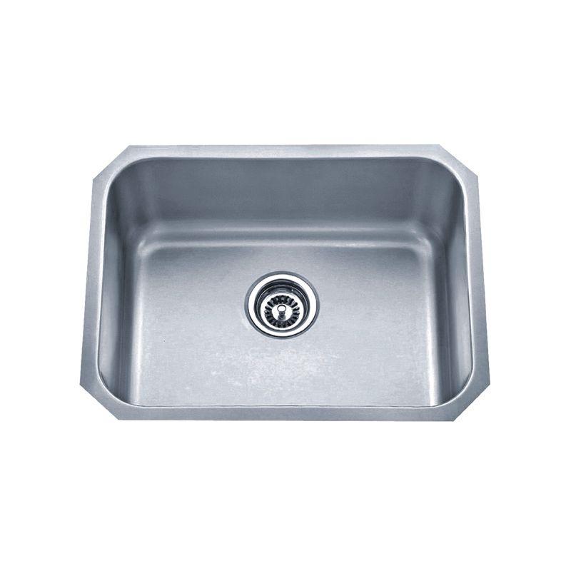 Acri-Tec 23 x 18 Stainless Steel Undermount Single Bowl Kitchen Sink
