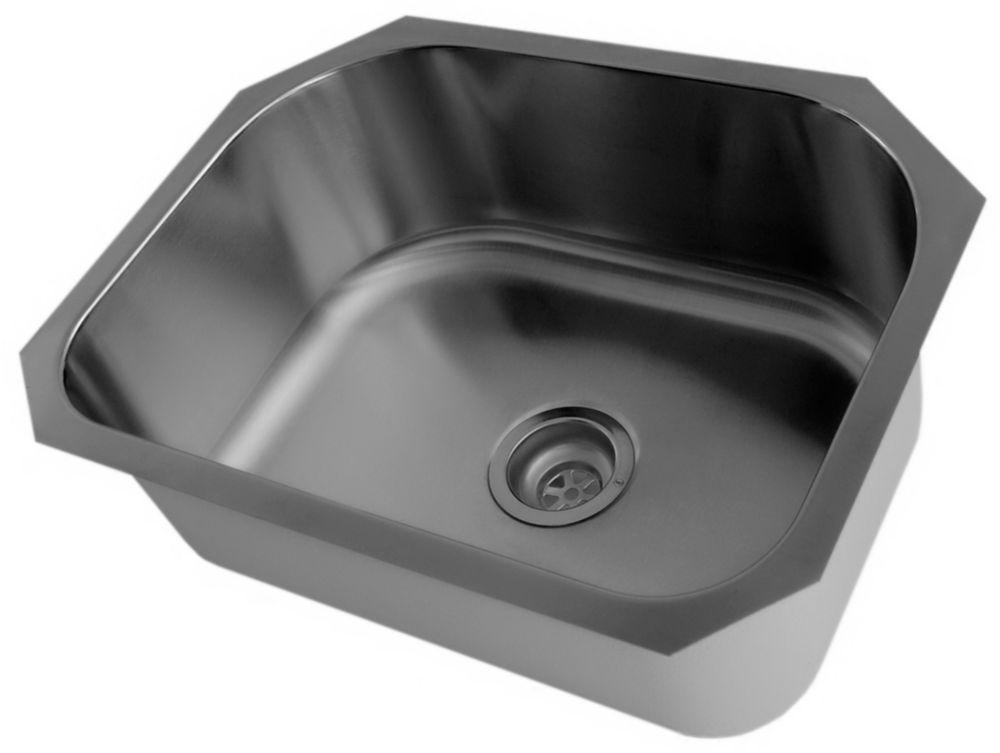 Stainless Steel Undermount Single Bowl Kitchen Sink
