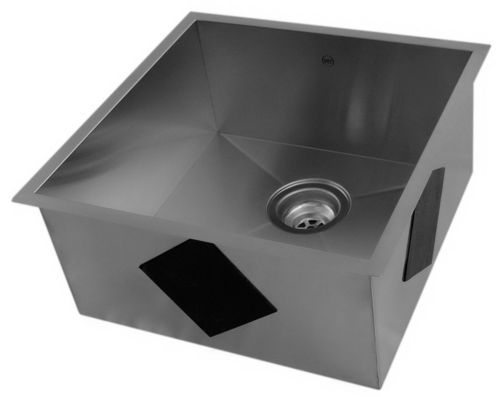 Discount Sinks : ... Kitchen Sink With Square Contemporary Corners 211600 Canada Discount