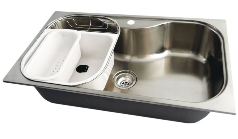 discontinued kitchen sinks stainless steel large bowl kitchen sink 250807 canada 3347