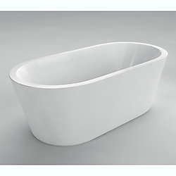 Acri-Tec Lyon Seamless Freestanding Bathtub
