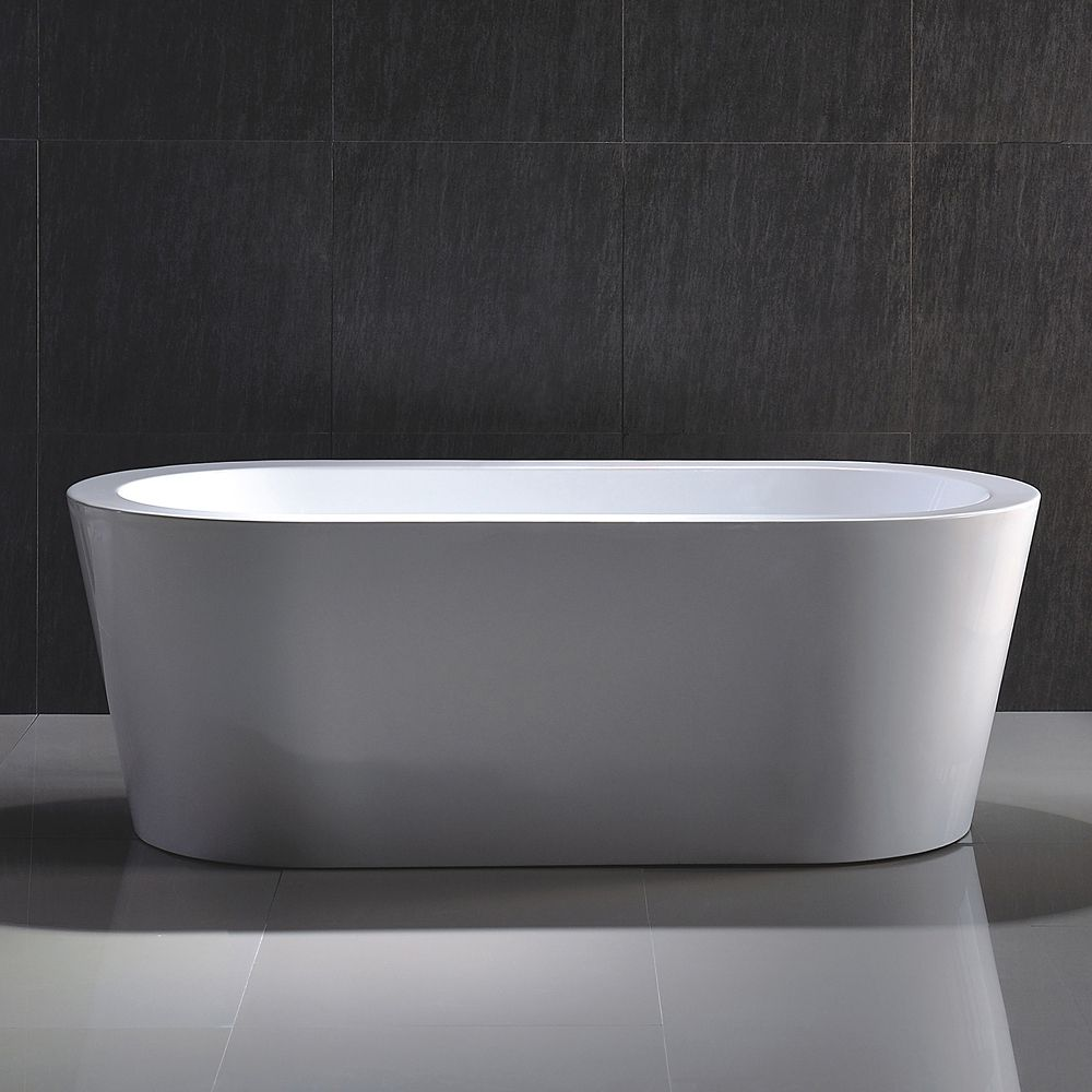 ORO 60 X 30 Inch Skirted Bathtub Right Hand Drain ORO6030SKRH In Canada Can