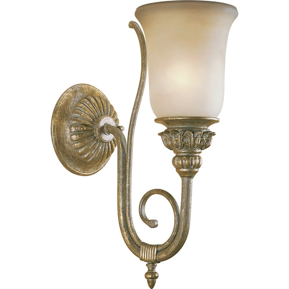 Barcelona Collection Creme Brulee 1-light Wall Sconce
