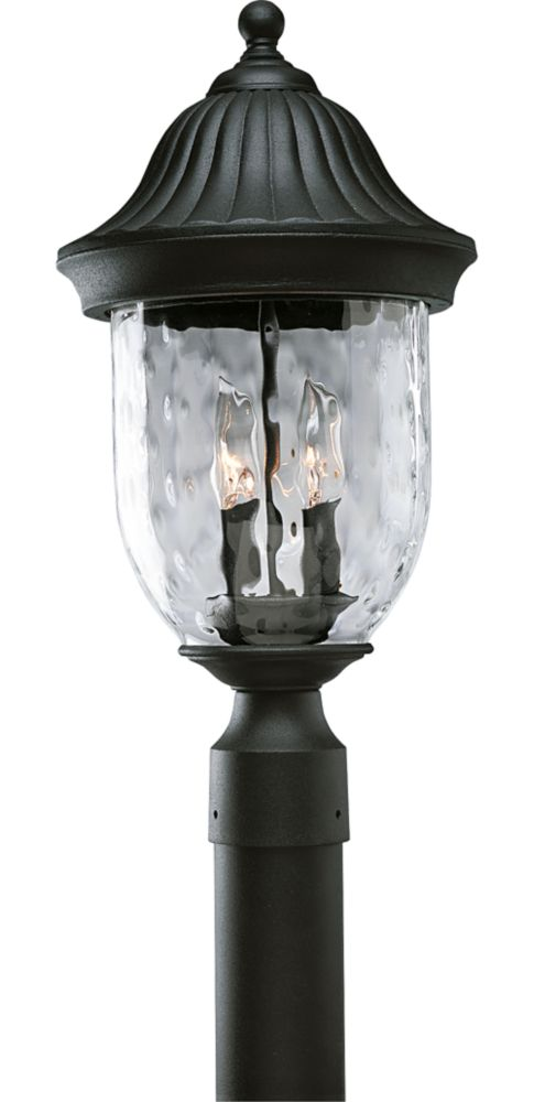 Coventry Collection Textured Black 2-light Post Lantern 7.85247E 11 Canada Discount