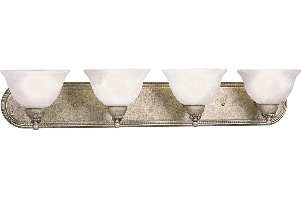 Avalon Collection Platinum Mist 4-light Wall Bracket