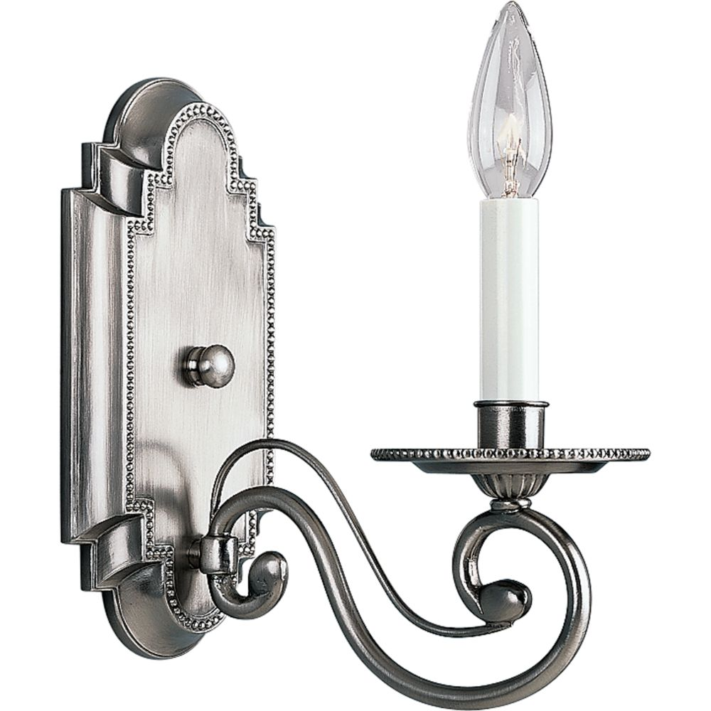 Bradford Collection Antique Nickel 1-light Wall Sconce