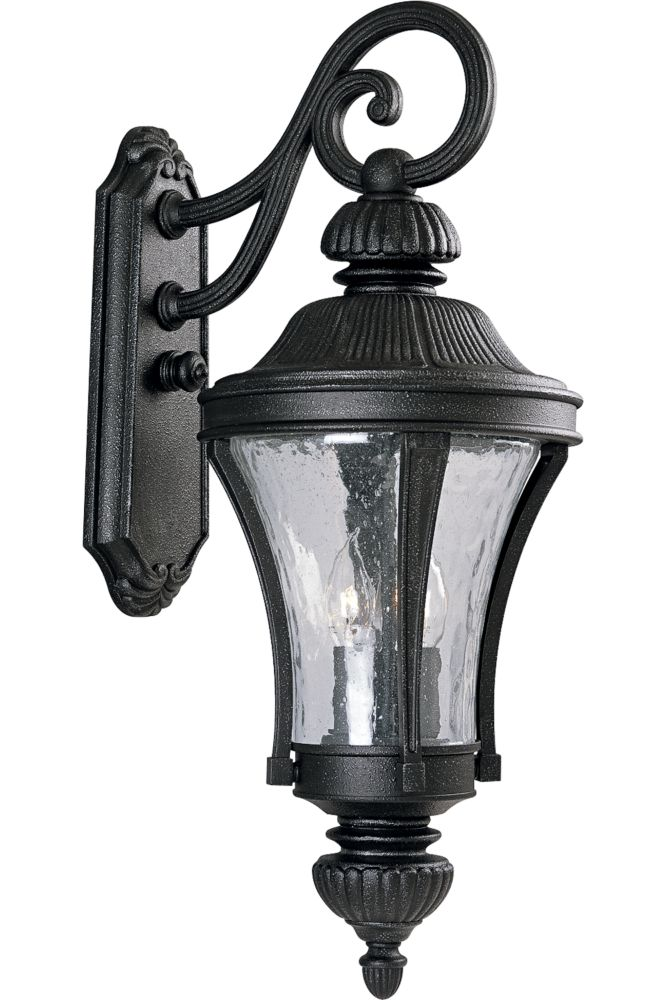 Nottington Collection Gilded Iron 3-light Wall Lantern