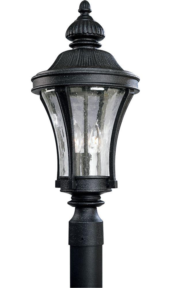Lampadaire à 3 Lumières, Collection Nottington - fini Fer Doré