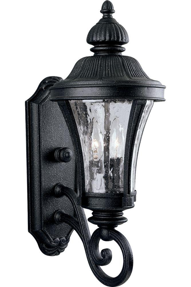 Nottington Collection Gilded Iron 2-light Wall Lantern