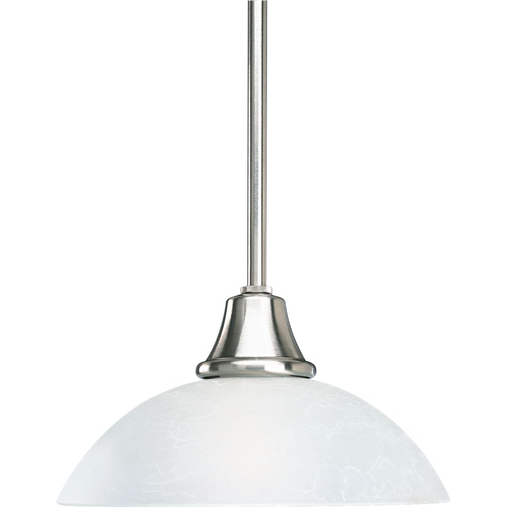 Sentura Collection Brushed Nickel 1-light Mini-Pendant