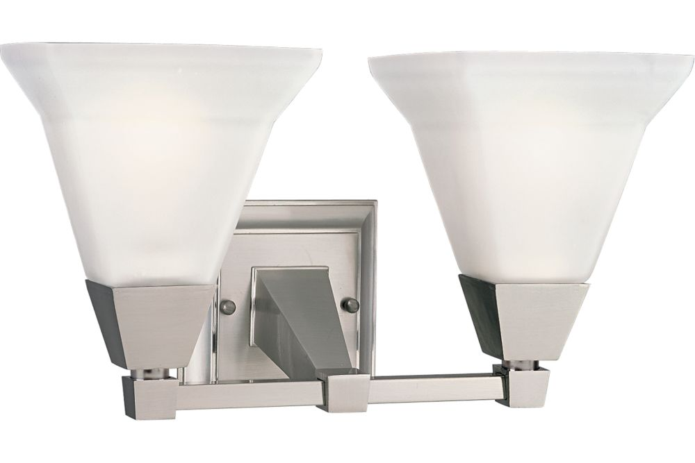 Glenmont Collection Brushed Nickel 2-light Wall Bracket