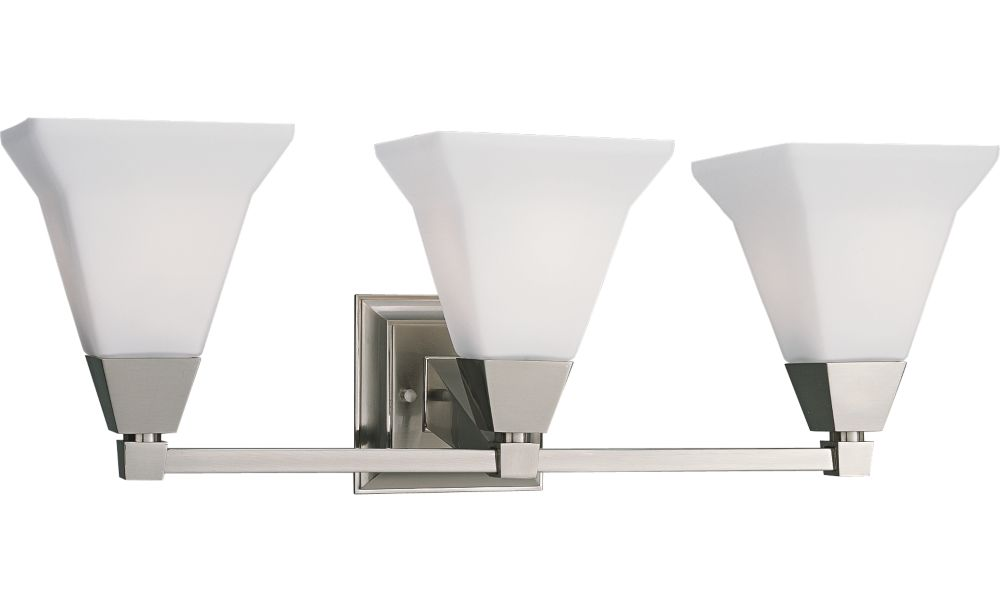 Glenmont Collection Brushed Nickel 3-light Wall Bracket