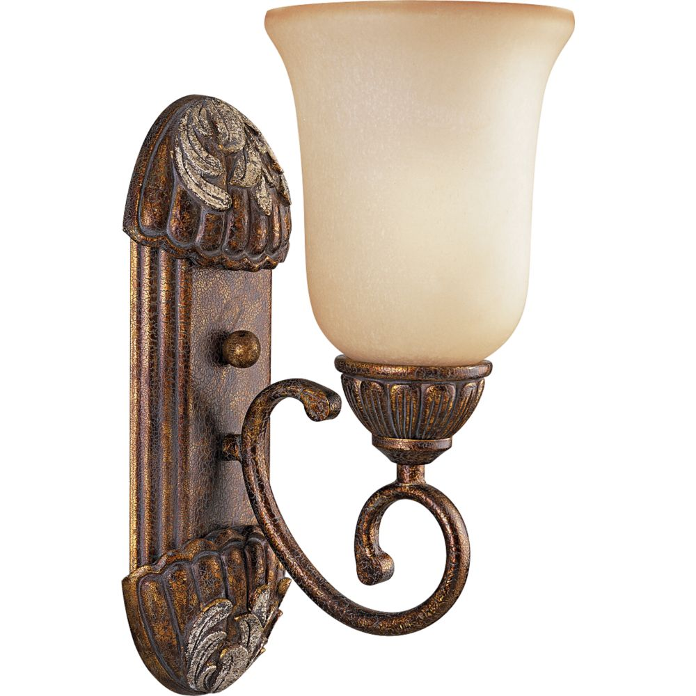 Carmel Collection Tuscany Crackle 1-light Wall Bracket