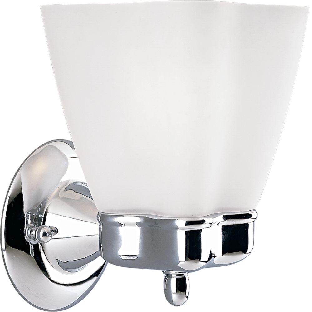 Michael Graves Collection Chrome 1-light Wall Bracket