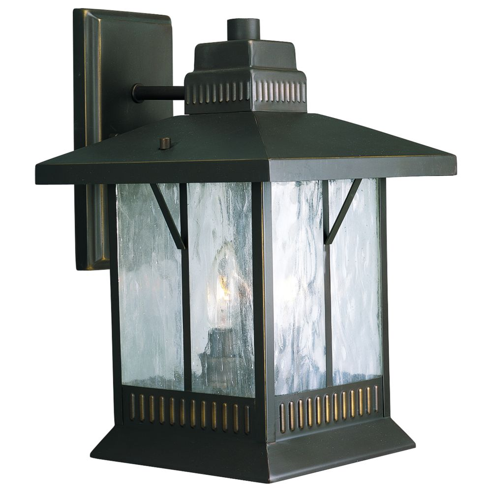 Aberdeen Collection Antique Bronze 2-light Wall Lantern