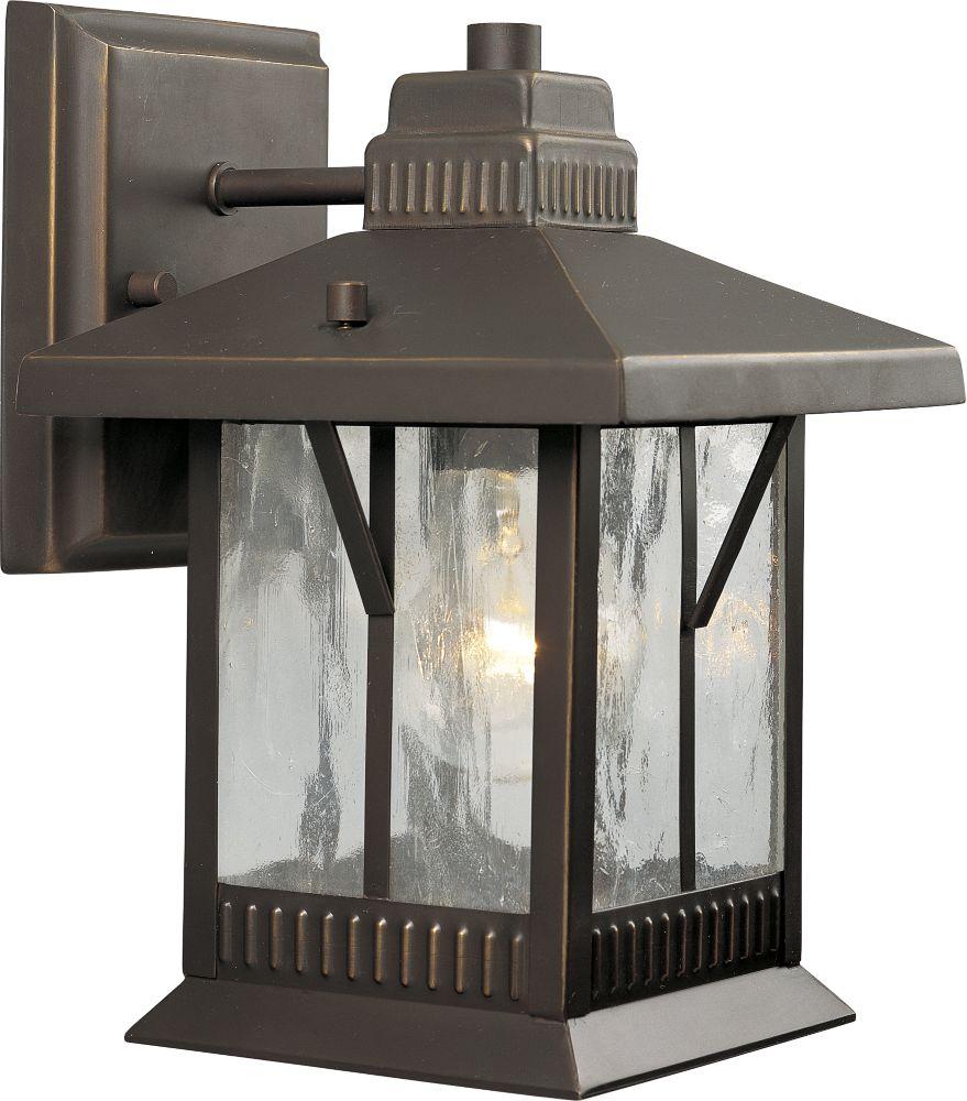 Aberdeen Collection Antique Bronze 1-light Wall Lantern