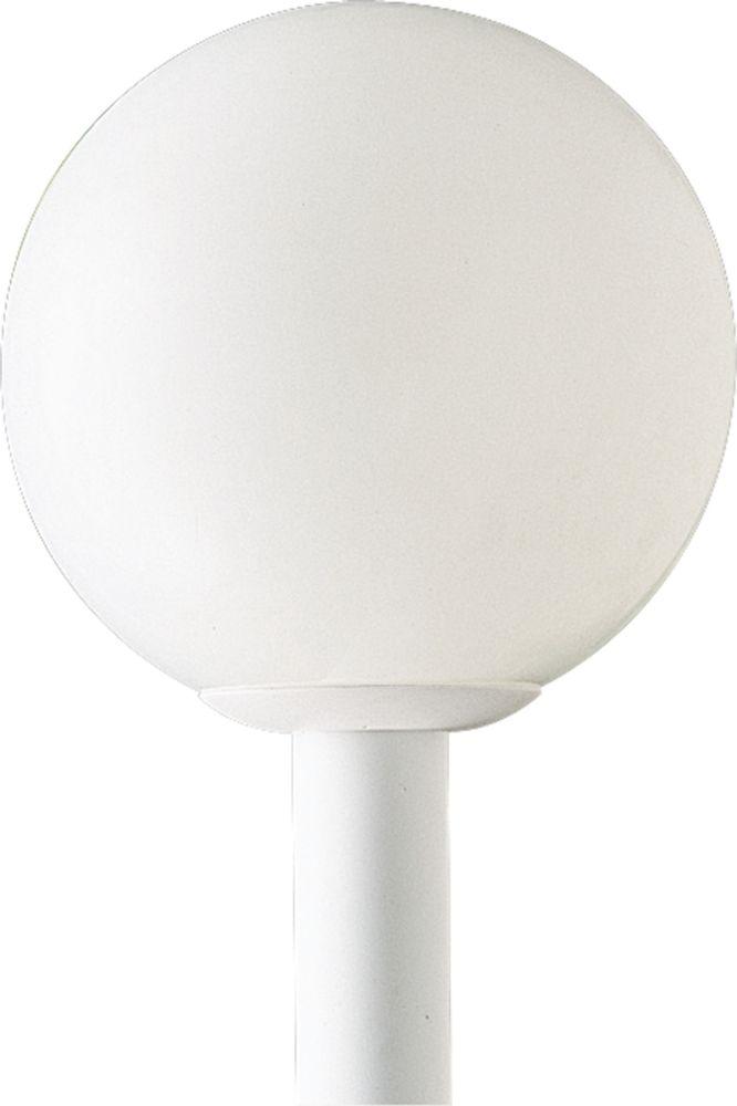 Lampadaire à 1 Lumière, Collection Globe - fini Blanc