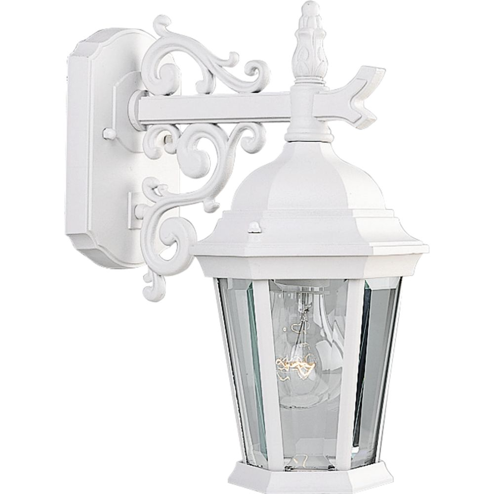 Welbourne Collection Textured White 1-light Wall Lantern
