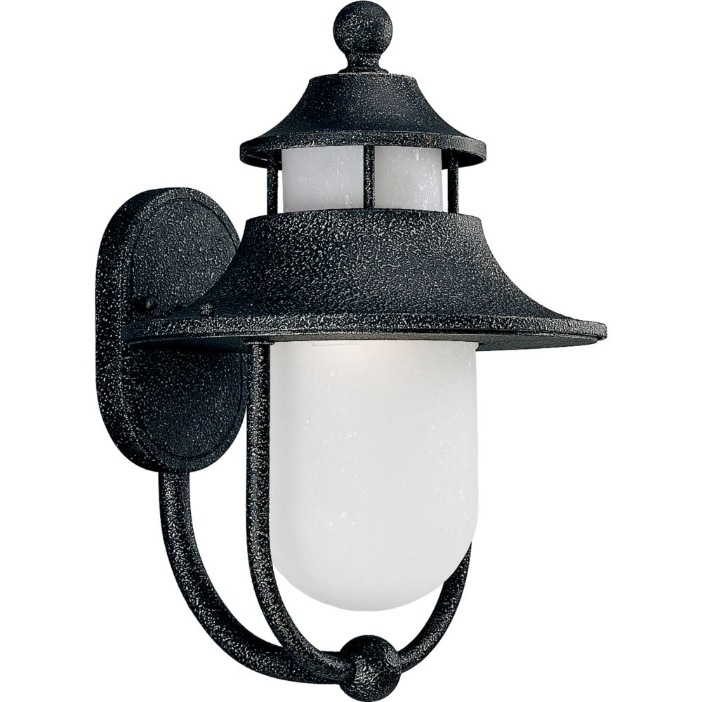 Cape Cod Collection Gilded Iron 1-light Wall Lantern