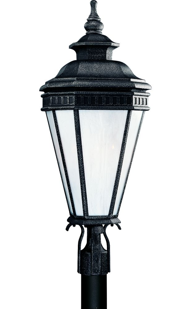 Georgian Collection Gilded Iron 1-light Fluorescent Post Lantern