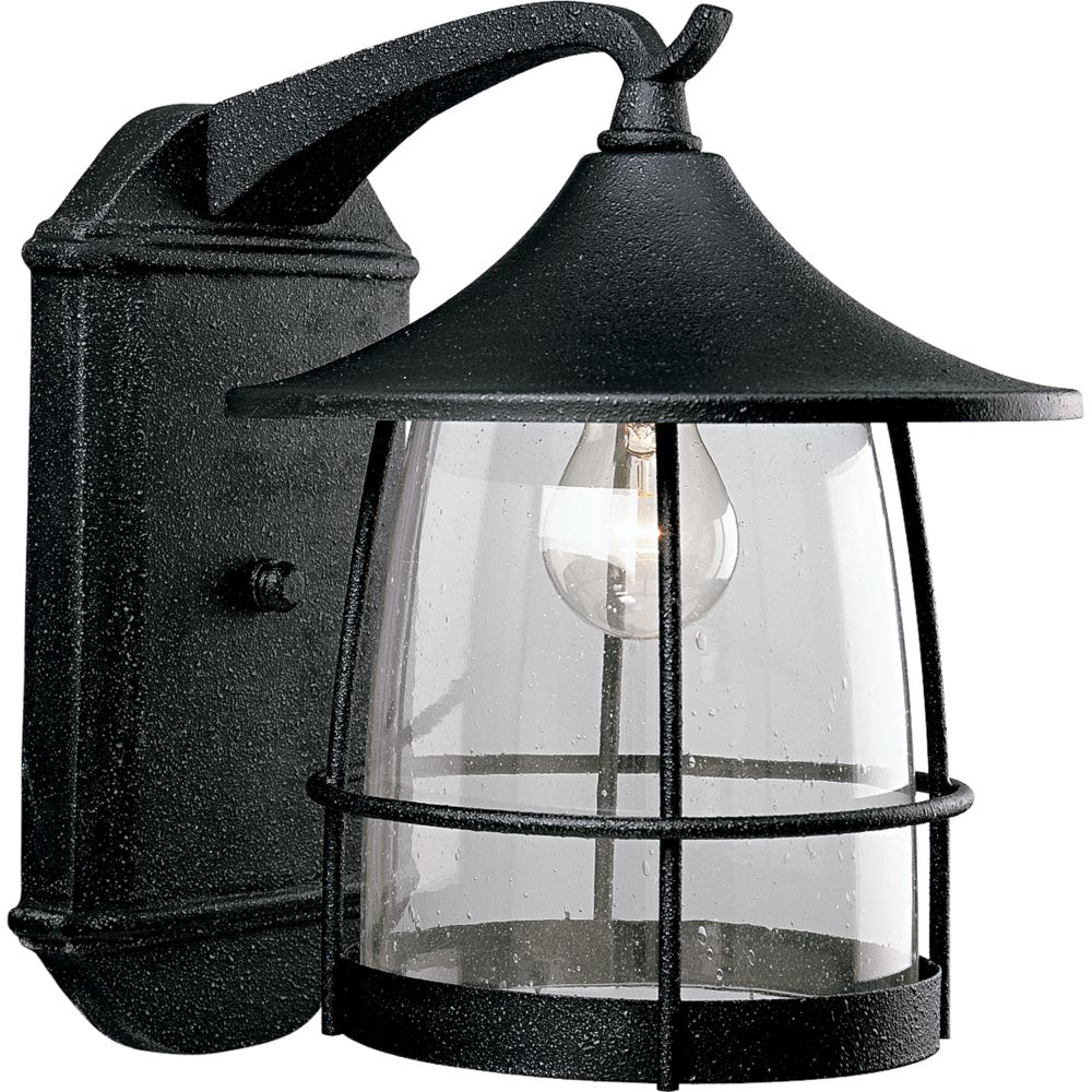 Prairie Collection Gilded Iron 1-light Wall Lantern