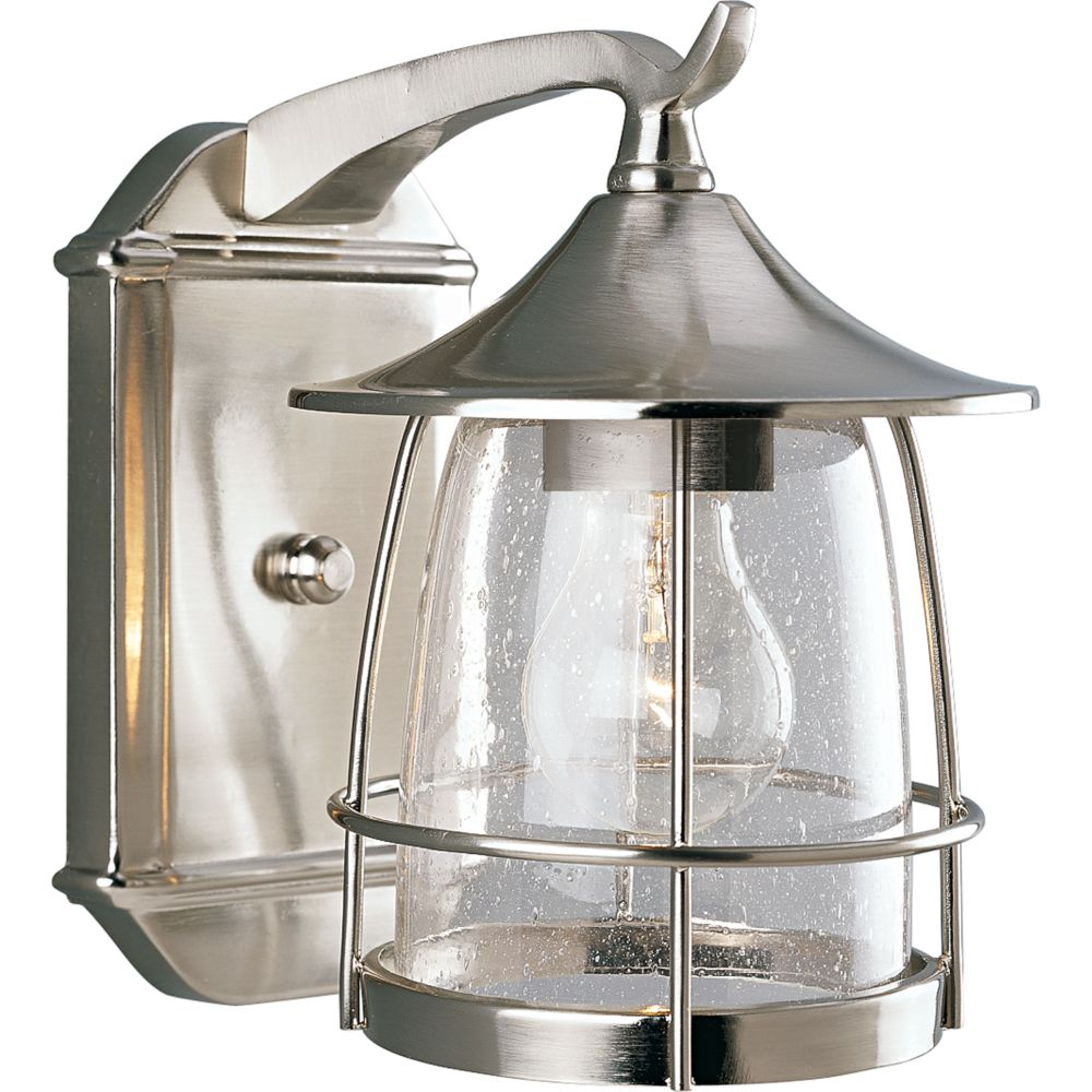 Lighting Collections For Whole House: Progress Lighting Prairie Collection Brushed Nickel 1