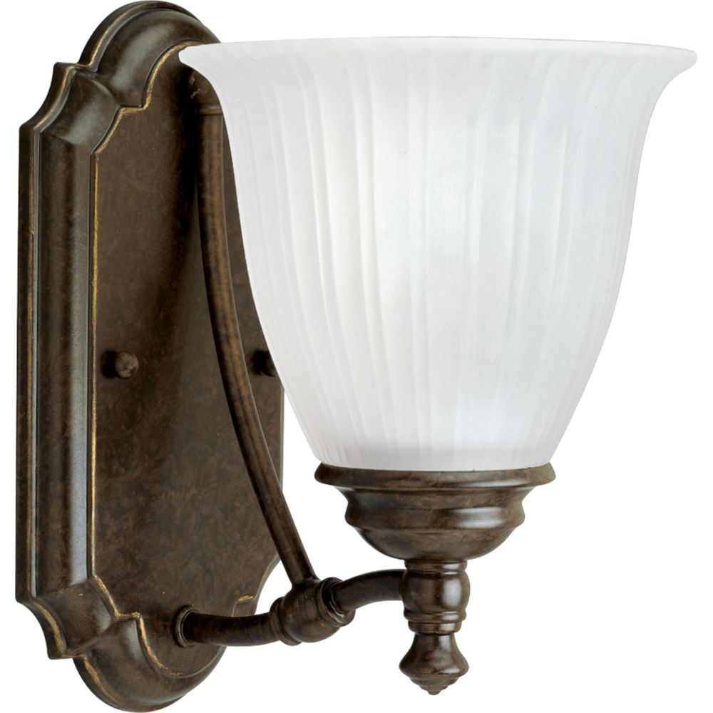 Renovations Collection Forged Bronze 1-light Wall Bracket