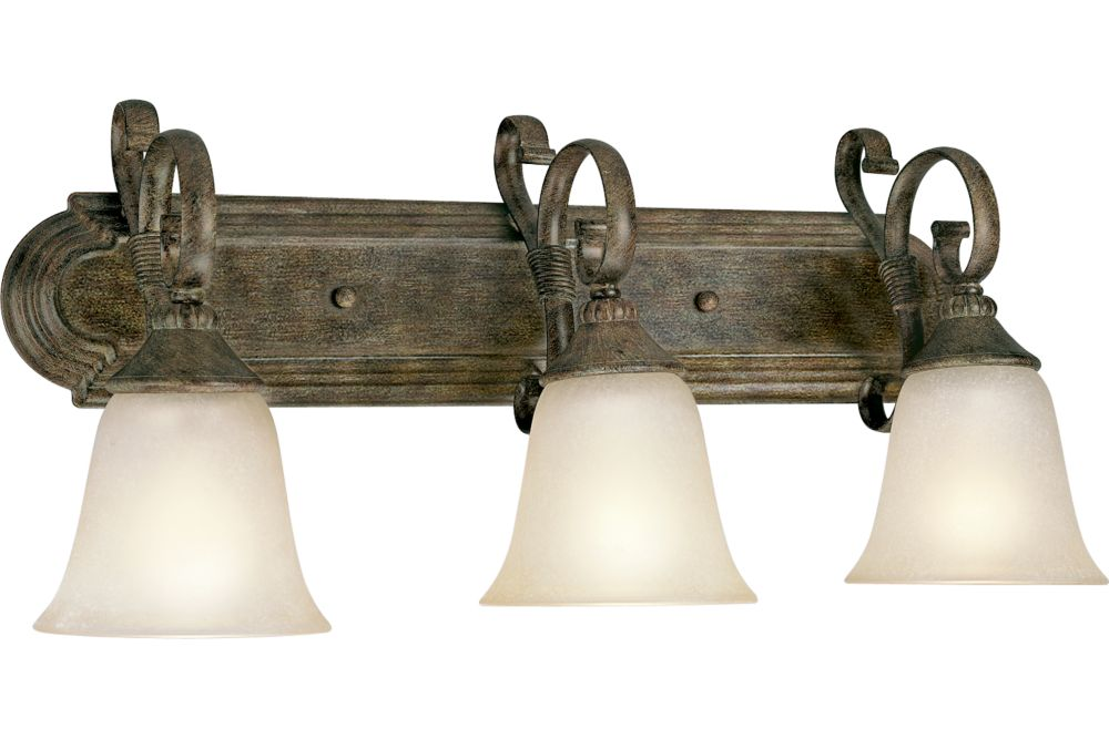 Maison Orleans Collection Fieldstone 3-light Wall Sconce
