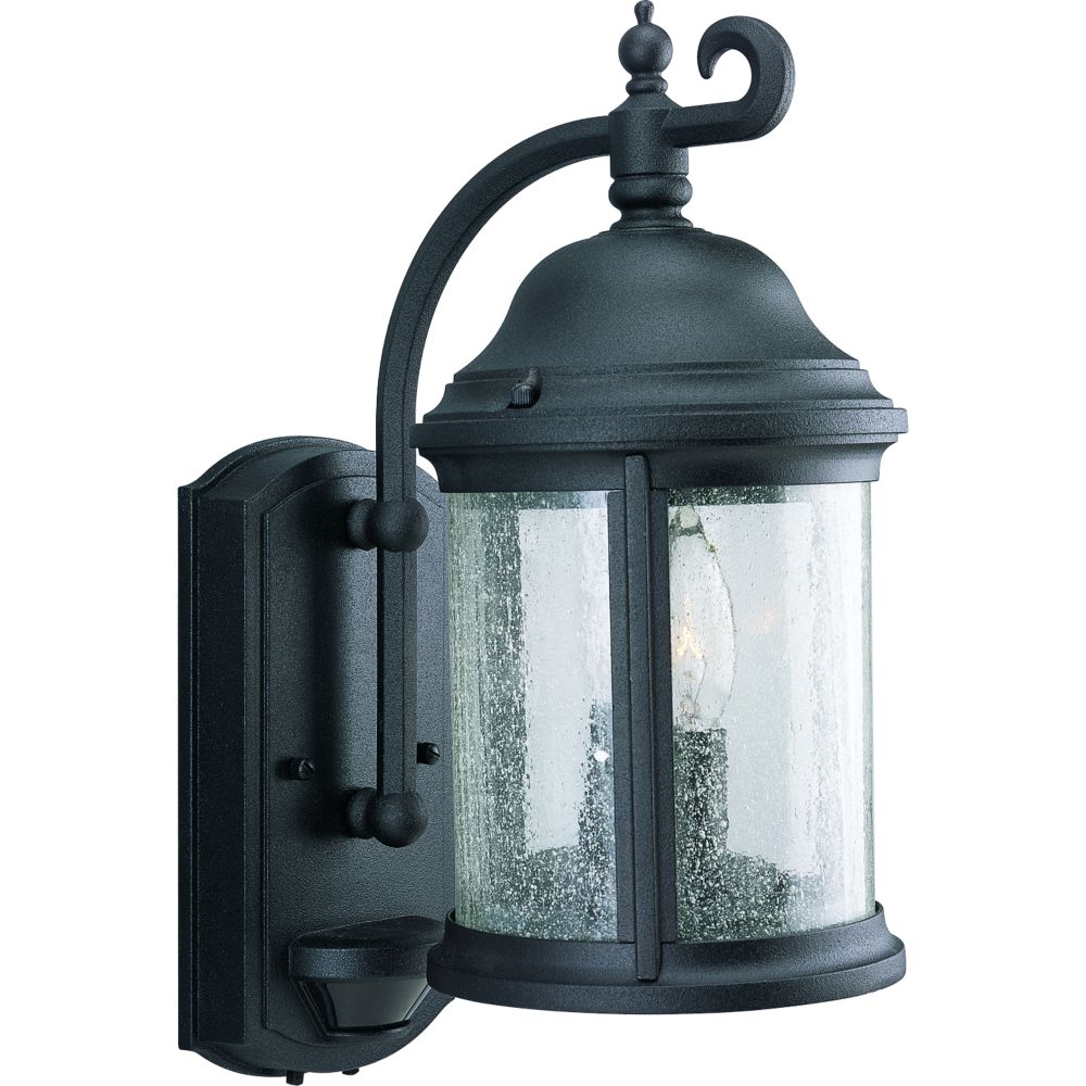 Ashmore Collection Textured Black 2-light Wall Lantern