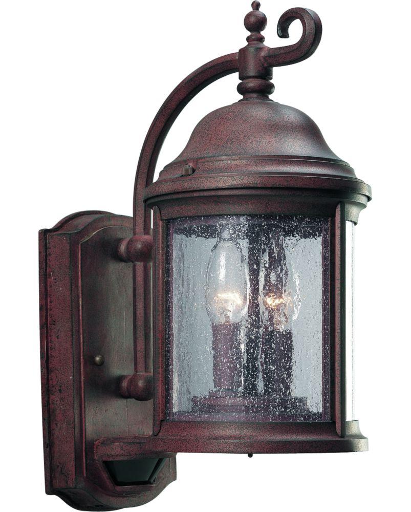 Ashmore Collection Cobblestone 2-light Wall Lantern