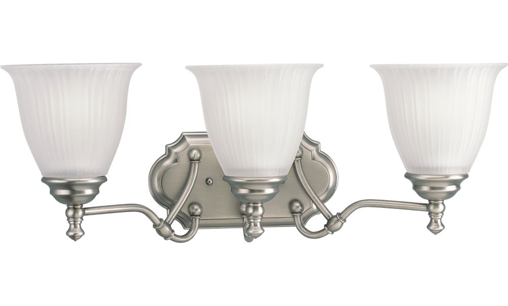 Renovations Collection Antique Nickel 3-light Wall Sconce