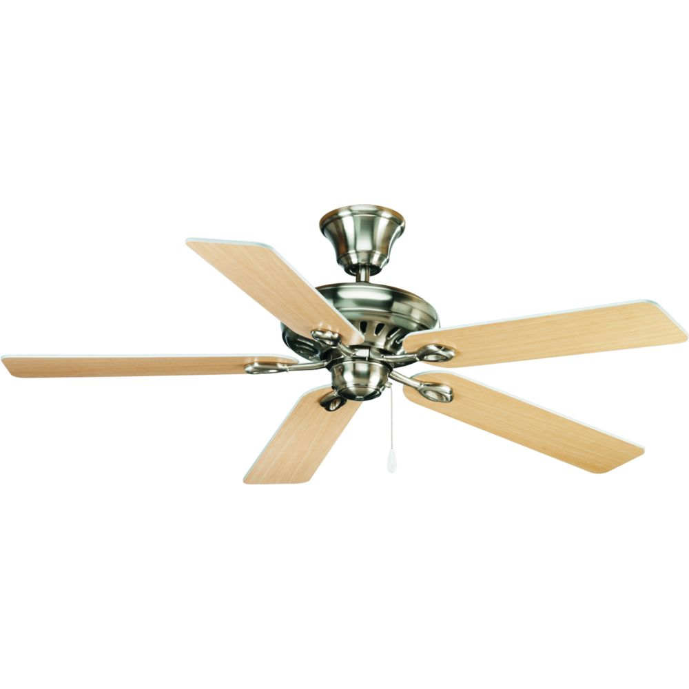 52 In. AirPro Signature Brushed Nickel Ceiling Fan